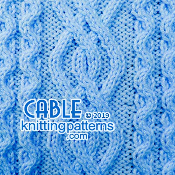 Knitted Cables. #CableKnittingPatterns