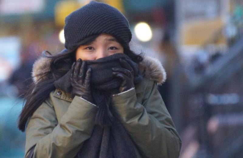 El frío llega a Nueva York a partir de hoy como si estuviera empezando el invierno