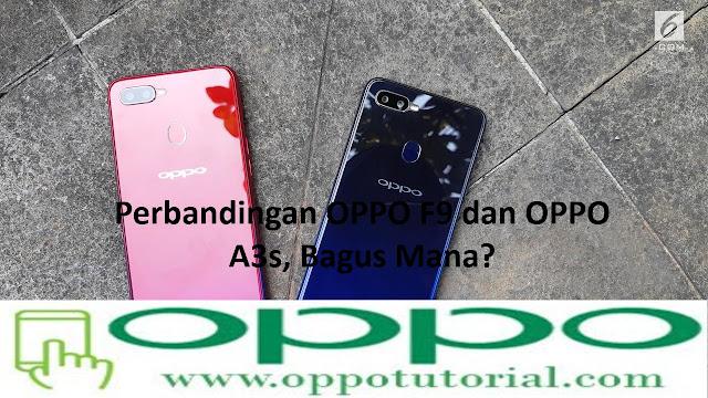 OPPO F9 dan OPPO A3s