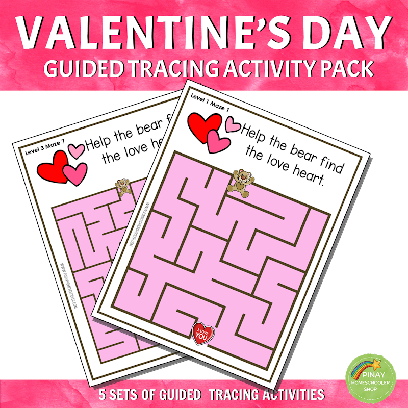 Valentines Day Theme Resource Mazes