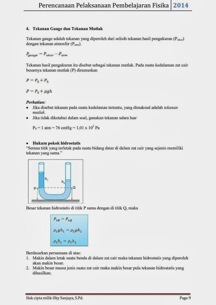 Fisika Siswa Contoh Rpp Fisika Sma Kurikulum 2013
