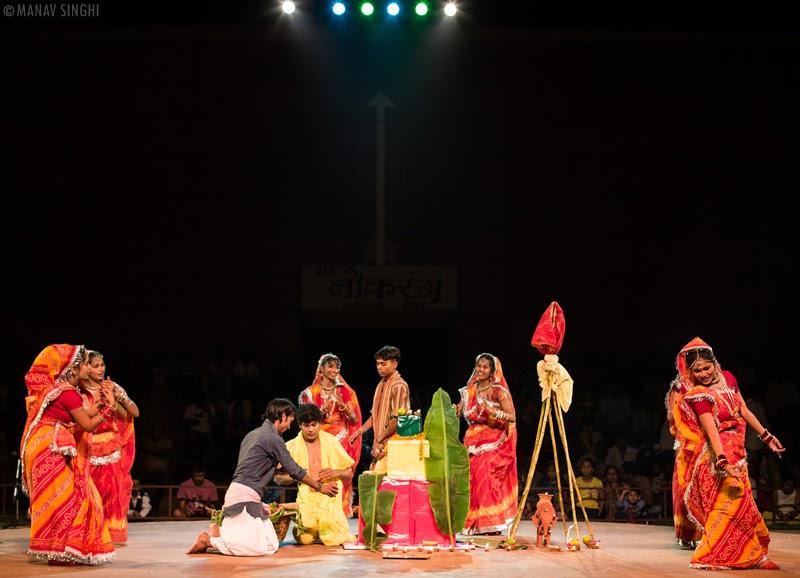 Chhath Ki Puja Dance Bihar