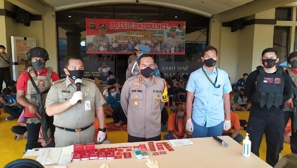 Polisi Gerebek Kafe di Jakut, Ratusan Orang Diamankan-5 Jadi Tersangka