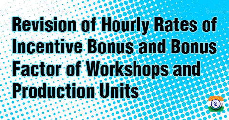 Hourly Rates of Incentive Bonus 7cpc