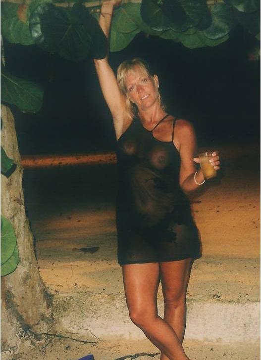 Naked girl hops outside 7
