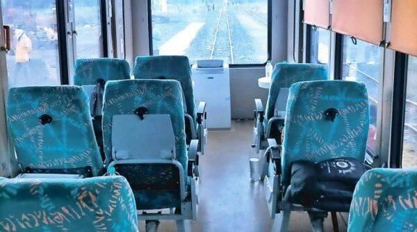 Tourist Vista Dome Coach.