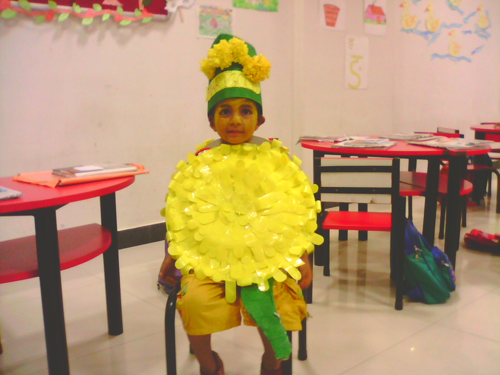 Yellow Day Celebration In Preschool