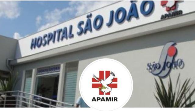 Apamir emite nota : Governo de SP corta recursos  do Hospital São João