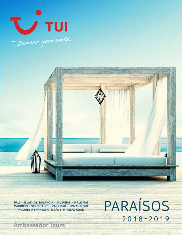 Catálogo TUI Ambassador Hoteles Paraisos 2018-19