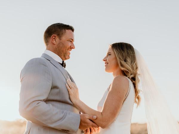 ➳ TARA AND LUKE  | EARTHY COASTAL OSTERIA WEDDING {CASUARINA}