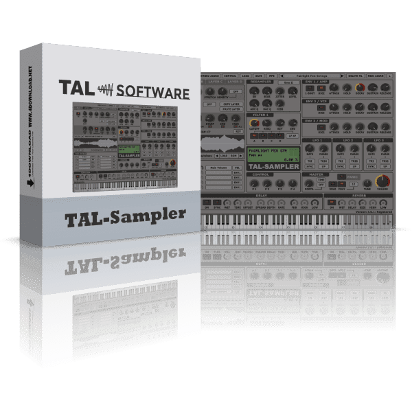 TAL Software - TAL-Sampler v3.1.1 Full version