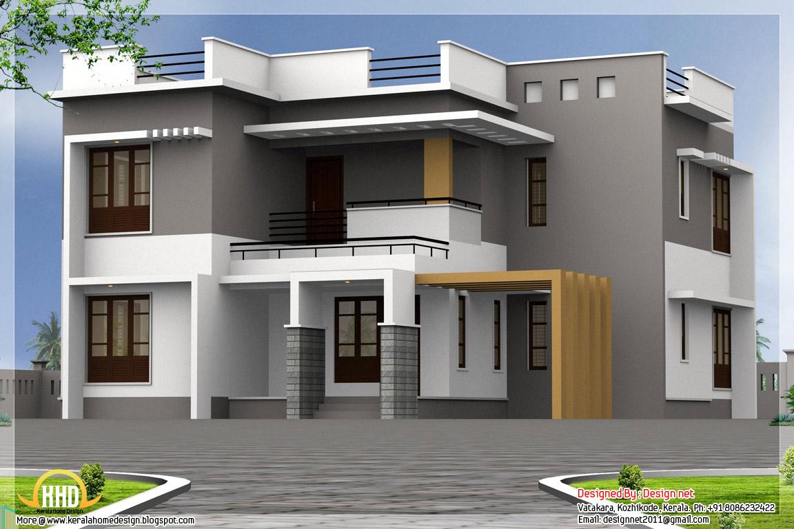2500 Sq Ft 4 Bedroom Modern House Home Appliance