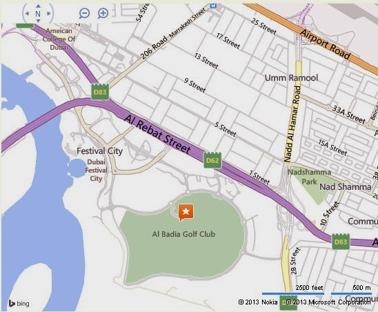 Al Badia Golf Club Dubai Location Map,Location Map of Al Badia Golf Club Dubai,Al Badia Golf Club Dubai accommodation destinations attractions hotels map reviews photos pictures
