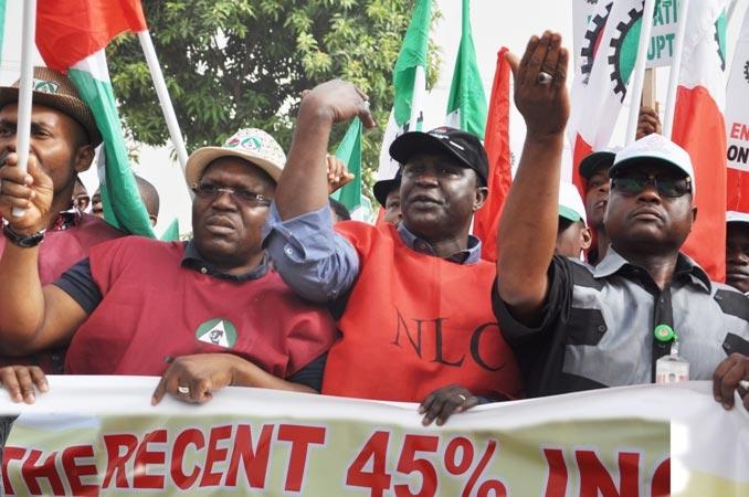 Nigerian Labour Congress Demands 56,000 Naira Minimum Wage For Civil Servants