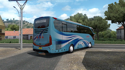 Mod Bus Morodadi Prima Grand Turismo - ETS2 1.30 - 1.41