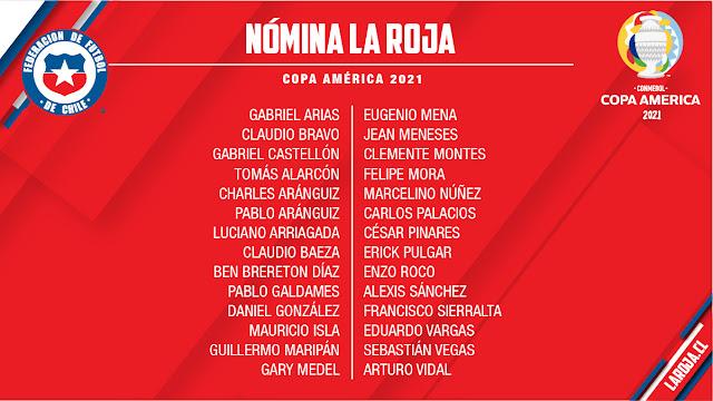 Jugadores de Chile