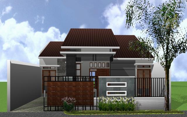 Desain eksterior rumah minimalis type 45 & 20+ Desain Rumah Minimalis Type 45 1 dan 2 Lantai