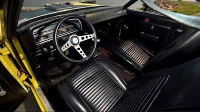 1971 Ford Torino Cobra Fastback Interior Cabin