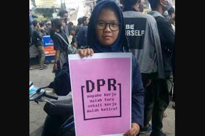 Merasa Dikhianati, Mahasiswa: DPR Sekarang Kerjanya 'Asal Bapak Senang'