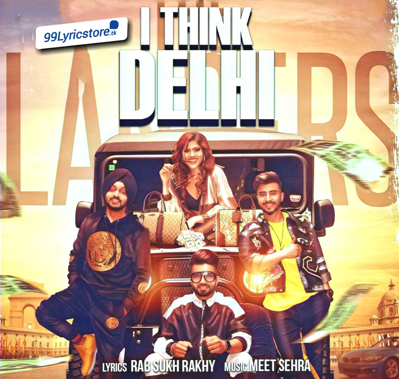 I Think Delhi Pujabi Song Lyrics Sung by The Landers