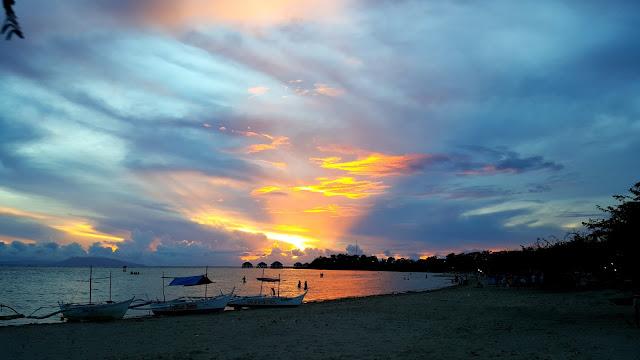 manuel uy calatagan sunset