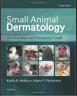 Small Animal Dermatology , A Color Atlas and Therapeutic Guide 4th Edition