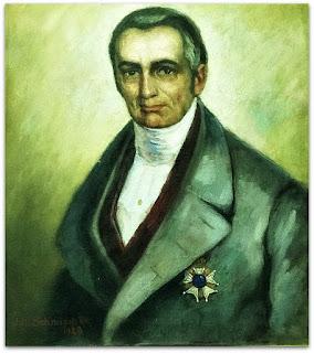 Quadro do Visconde de São Leopoldo no Museu Histórico de São Leopoldo