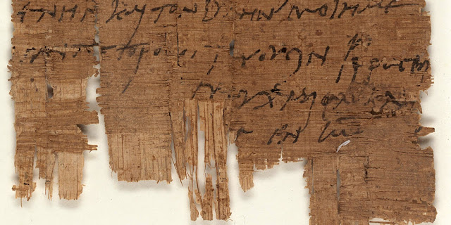 The world's oldest autograph by a Christian is in Basel