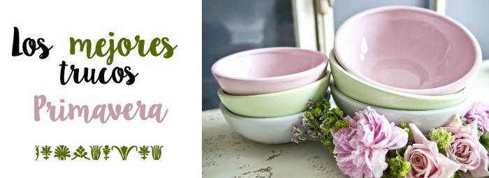 Los mejores trucos vestir tu mesa de primavera