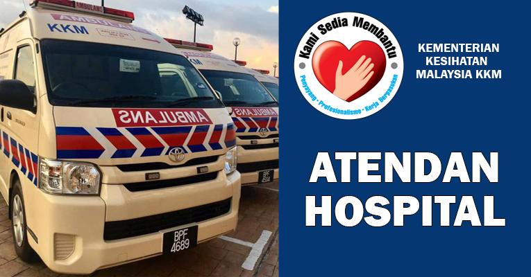 Permohonan Terbuka Jawatan Atendan Hospital Kerajaan