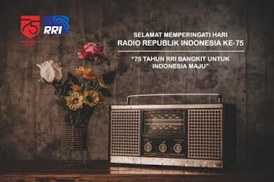 gambar ucapan selamat hari radio republik indonesia ke 75