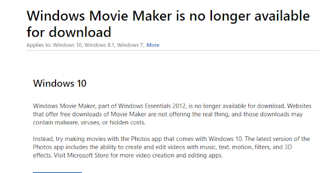 Microsoft Movie Maker News