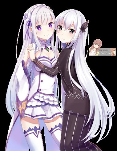 Echidna y Emilia 01