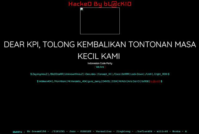 Situs KPI di Retas,