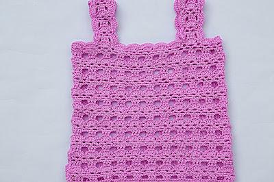 4 - Crochet Imagen Camisa a tirantes a crochet y ganchillo por Majovel Crochet