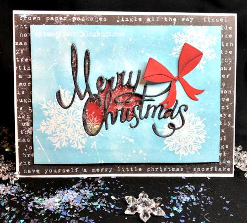 Sara Emily Barker https://sarascloset1.blogspot.com Christmas Ribbon Shaker Card 6
