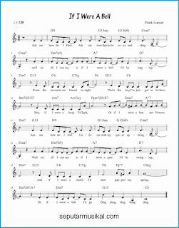 chord if i were a bell lagu jazz standar