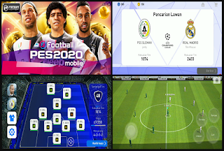 Download PES 2019 Mobile v3.3.1 Patch UCL for Android