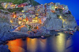 paesaggi della Liguria, geografia facile per la scuola