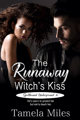 cover of The Runaway Witch's Kiss by Tamela Miles