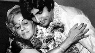 amitabh bachchan remebers his mother teji
