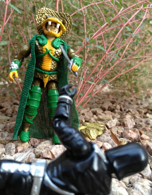 1986 Serpentor, Cobra Emperor, 1993 Cobra Commander