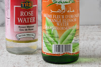 Agua de azahar / Agua de rosas