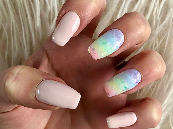 New Nails | Rainbow Opal