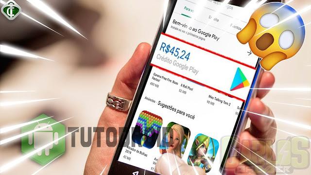 Como Ganhar Créditos na Google Play Store de Graça - 2020