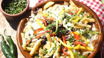 خضروات, طبق جانبى, مطبخ أمريكي, وجبة الغذاء,بطاطس بالجبنة,طريقة المكسيكية,البطاطا المكسيكية,البطاطس