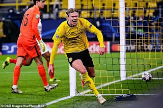 Man City lead Chelsea and Real Madrid in £90m chase for Dortmund star Haaland