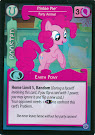 My Little Pony Pinkie Pie, Party Animal Premiere CCG Card