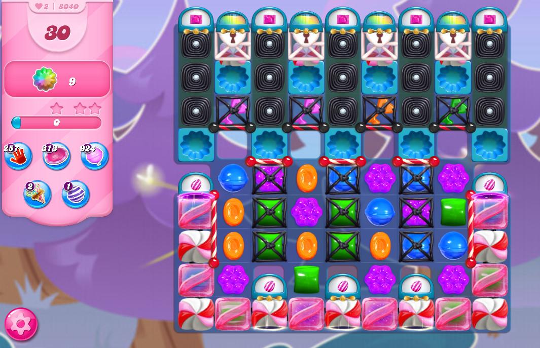 Candy Crush Saga level 8040