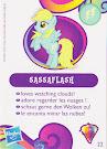 My Little Pony Wave 10 Sassaflash Blind Bag Card